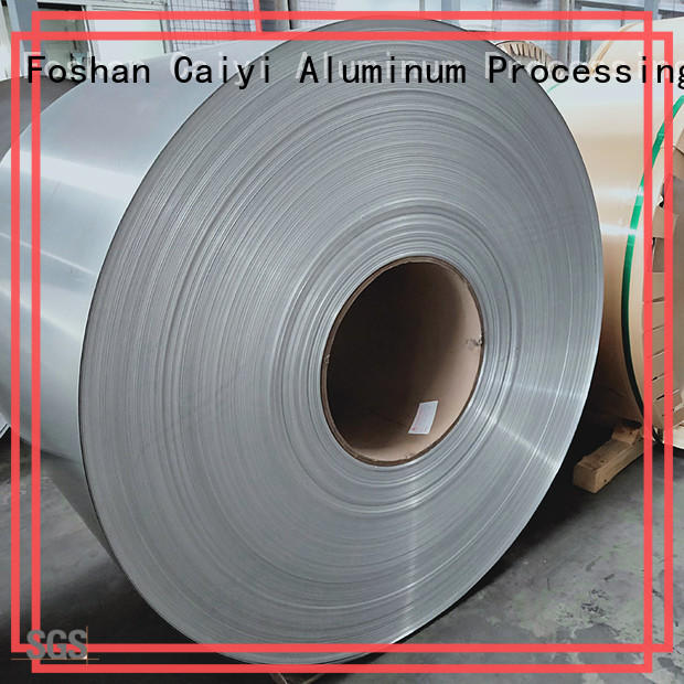 Caiyi aluminum sheet roll customization for reflectors