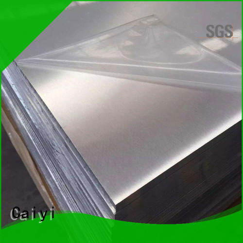 Caiyi new 6061t6 aluminum factory for mold