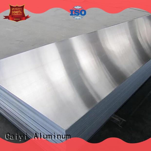 Caiyi 1050 aluminum sheet customization for industry