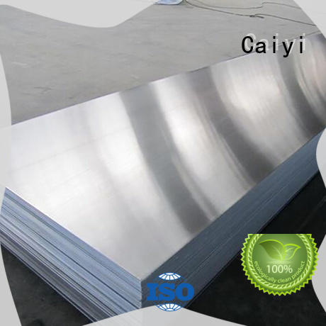 Caiyi online thin aluminium sheet manufacturer for industry