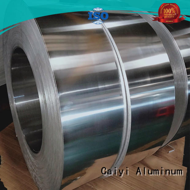 Caiyi aluminum sheet roll customization for radiators