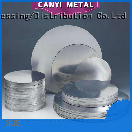 Caiyi aluminum plate for sale one-stop services for metal parts