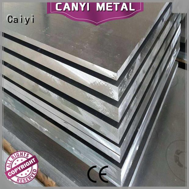 Caiyi sheet 6061 t6 aluminum sheet customization for factory
