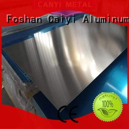Caiyi coated 3003 aluminum plate sheet for industry