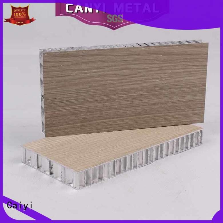 Caiyi finest aluminum honeycomb manufacturer for furniture