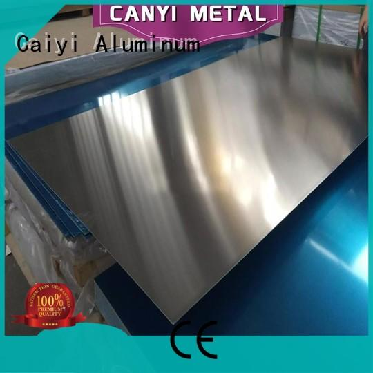 Caiyi embossed 3003 h14 aluminum supplier for hardware