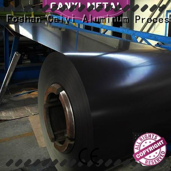 Caiyi aluminium alloy sheet export worldwide for gutters