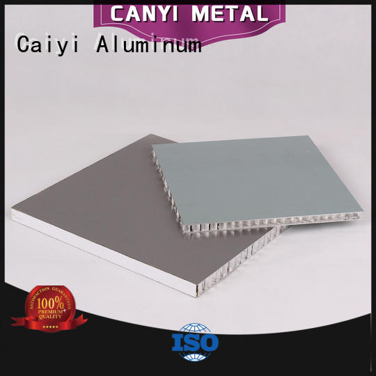 Caiyi endurable honeycomb panel fast shipping for building