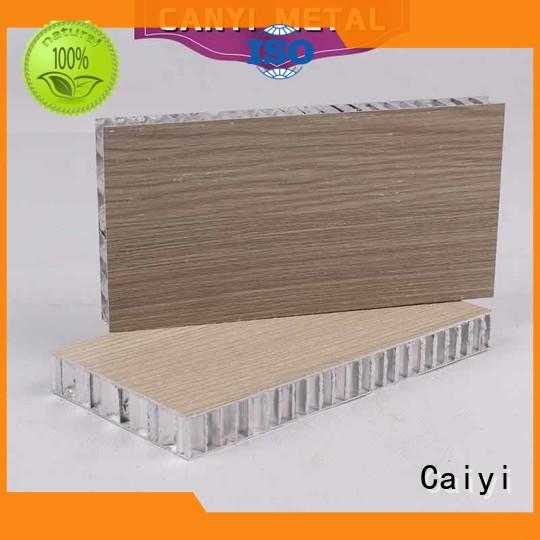 Caiyi custom aluminum honeycomb quick delivery for outdoor ceiling