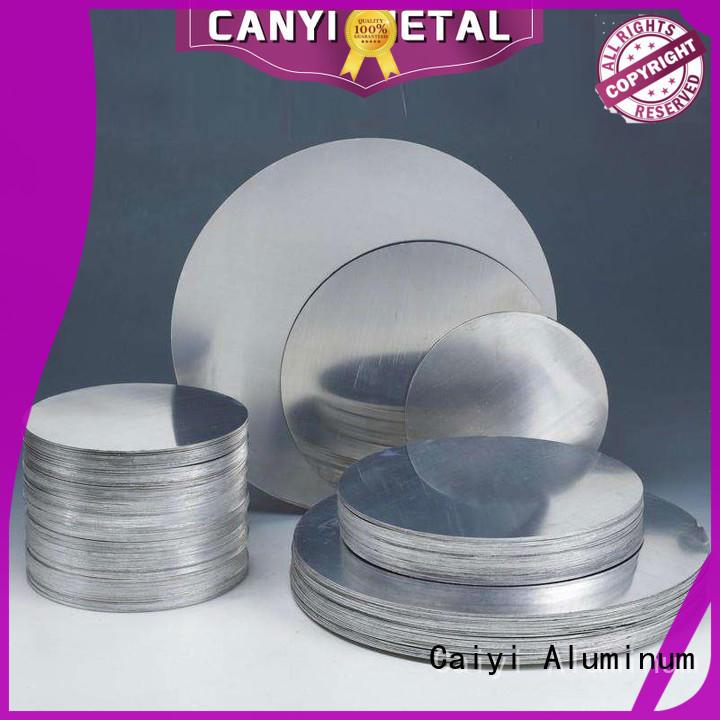 Caiyi decorated 5052 h32 aluminum sheet wholesale for hardware
