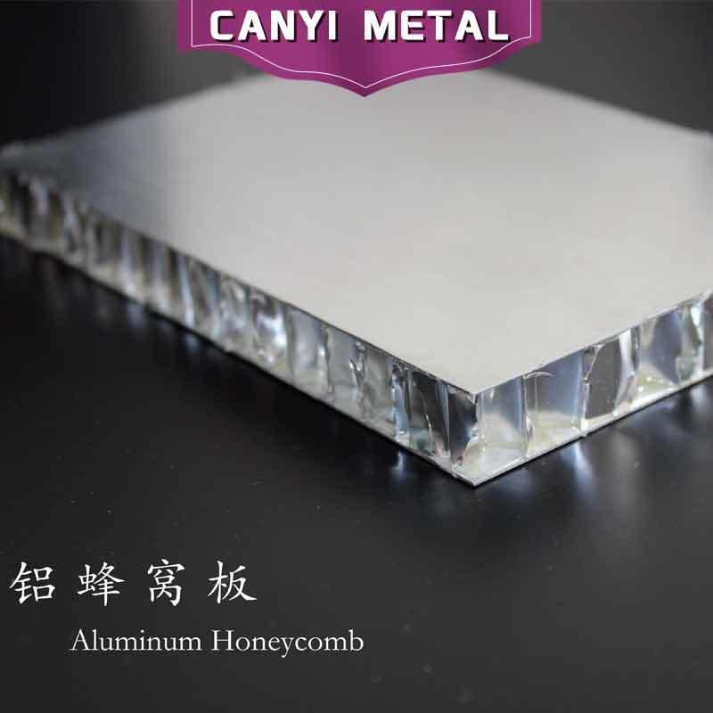 Fluorocarbon Aluminium Curtain Wall Honeycomb Panel