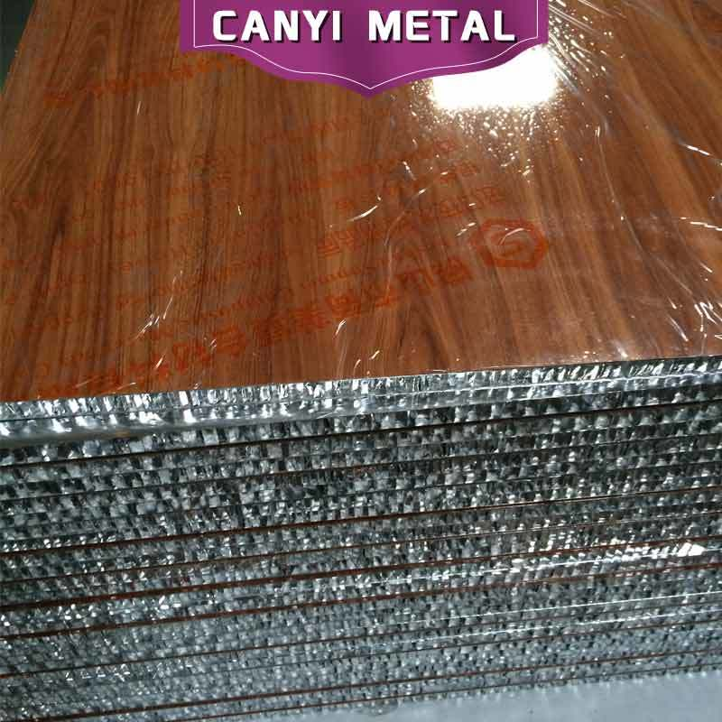 Insulated Mirror Aluminum Honeycomb Panel for Furniture Board