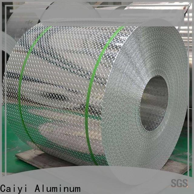 Caiyi fireproof 3003 aluminum sheet brand for stoppers