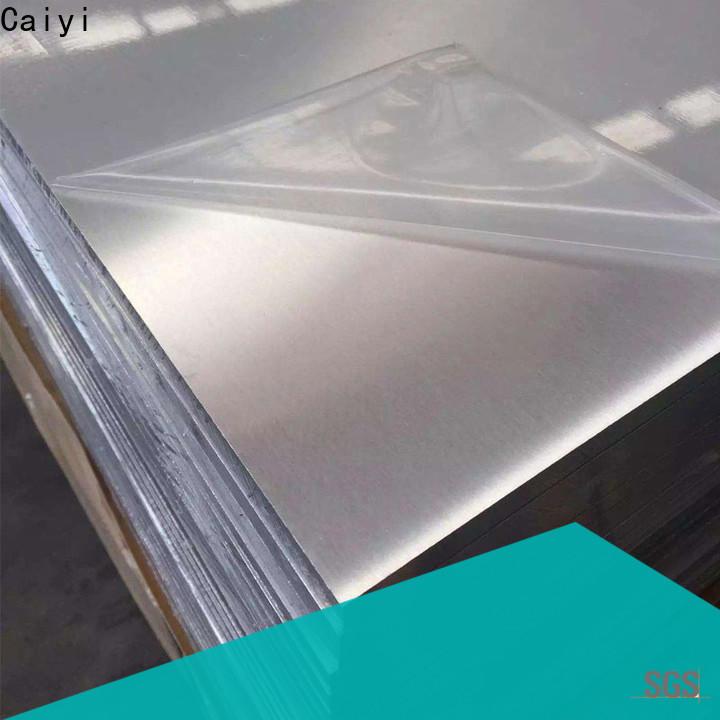 Caiyi new 6061t6 aluminum manufacturer for SMT