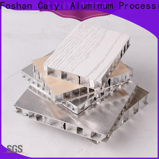 Caiyi honeycomb panel quick delivery for construction