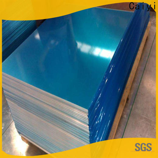 Caiyi cheap 5052 h32 aluminum sheet customization for oil pipes