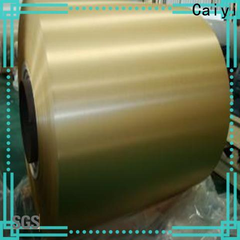 Caiyi 3000 series aluminum quick transaction for gutters