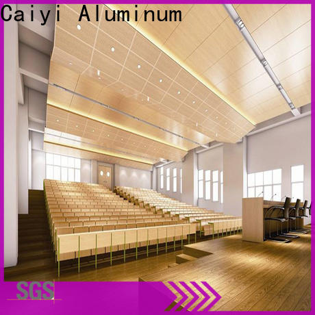Caiyi high quality aluminum composite panel price for building