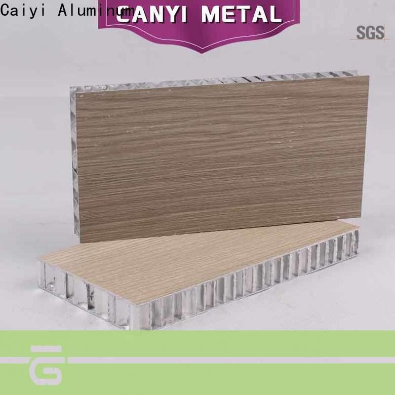 Caiyi honeycomb sheet manufacturer for furniture