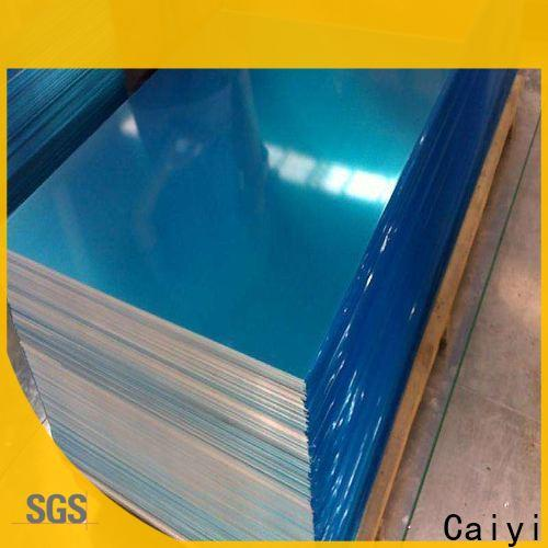 Caiyi rustproof aluminum plate for sale from China for metal parts