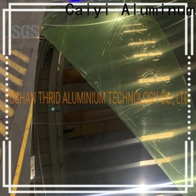 Caiyi high quality aluminum foil sheets brand for reflectors