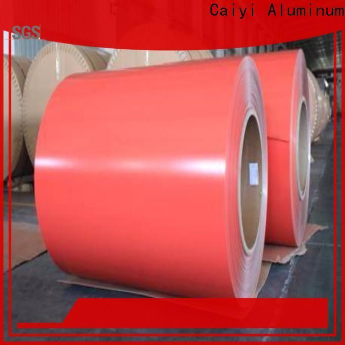 Caiyi aluminum sheet roll brand for radiators