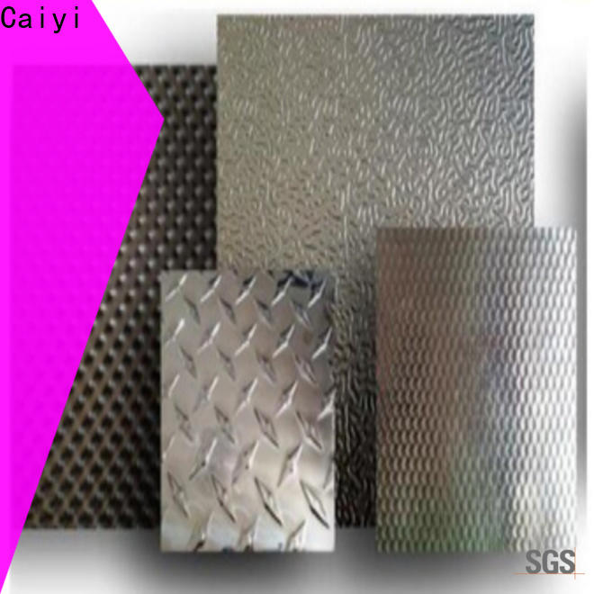 Caiyi 3003 aluminum sheet quick transaction for stoppers