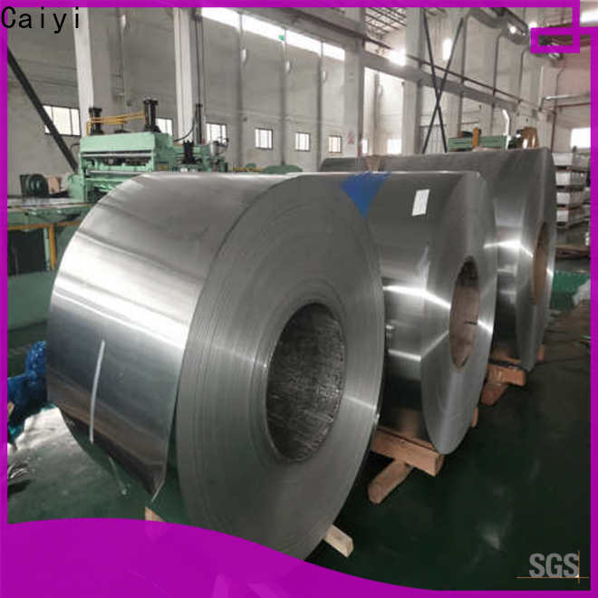 Caiyi stainless steel sheets for sale from China for nameplates