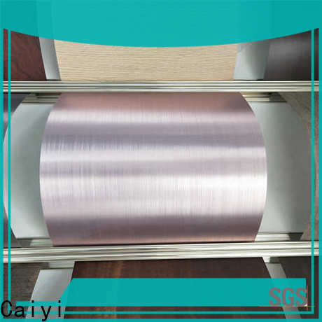 Caiyi new aluminium alloy sheet wholesale for various occasions