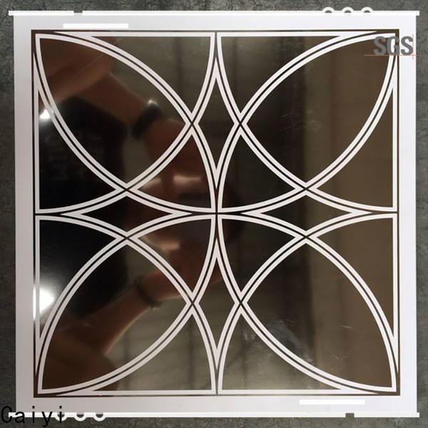 high quality aluminum composite panel details supplier for building