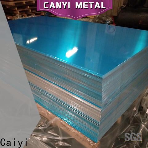 Caiyi aluminum 5052 h32 customization for oil pipes