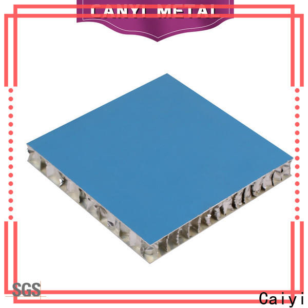 Caiyi honeycomb panel manufacturer for outdoor ceiling