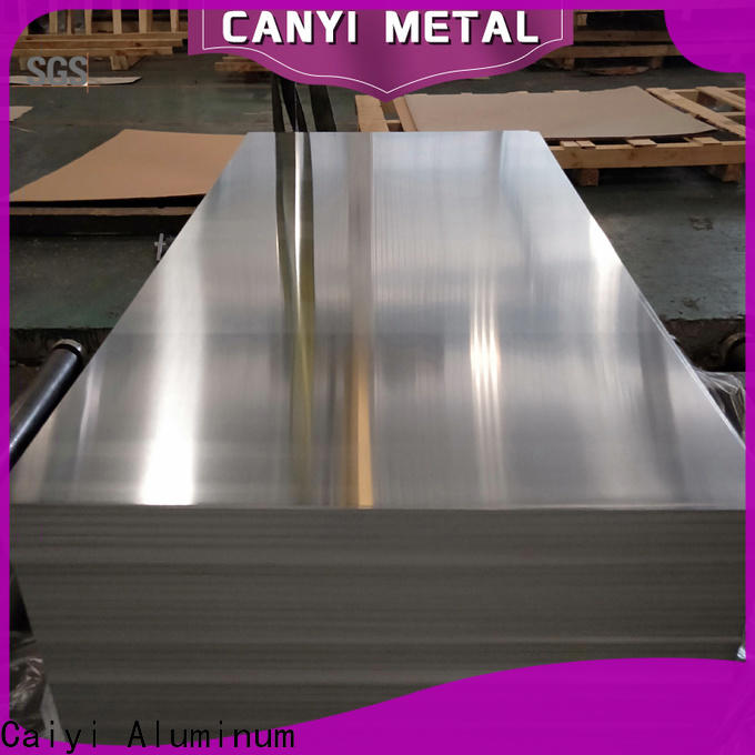 Caiyi 3003 aluminum plate brand for gutters