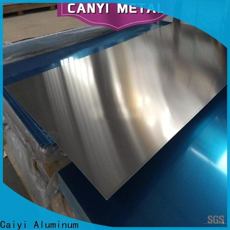 Caiyi 3003 aluminum plate export worldwide