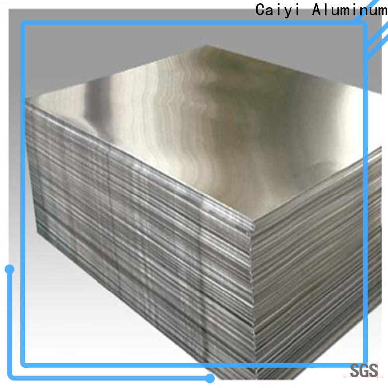 Caiyi eco-friendly 3003 aluminum plate export worldwide for various occasions