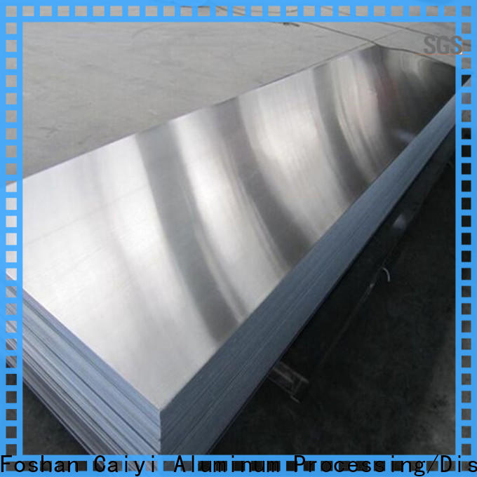 Caiyi fireproof 3003 aluminum plate quick transaction for importer