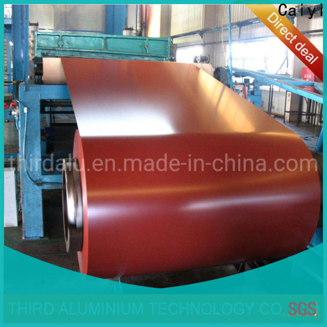 Caiyi high quality 3003 aluminum sheet quick transaction for importer