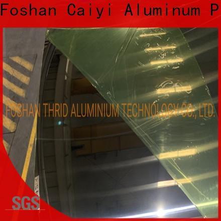 Caiyi aluminum coil stock customization for nameplates