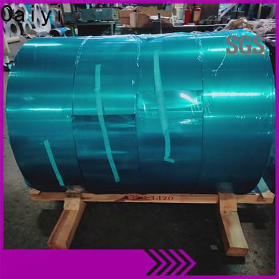 Caiyi thin aluminium sheet customization for industry
