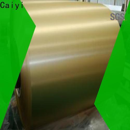 Caiyi 3003 aluminum sheet brand for gutters