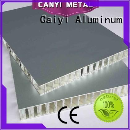 Caiyi safety Aluminum Honeycomb Plate supplier for industry