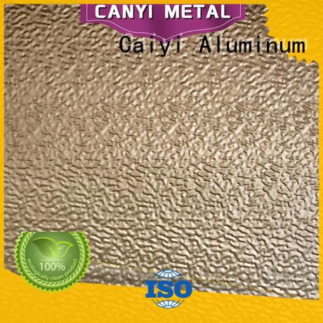 Caiyi famous 1100 aluminum sheet from China for radiators