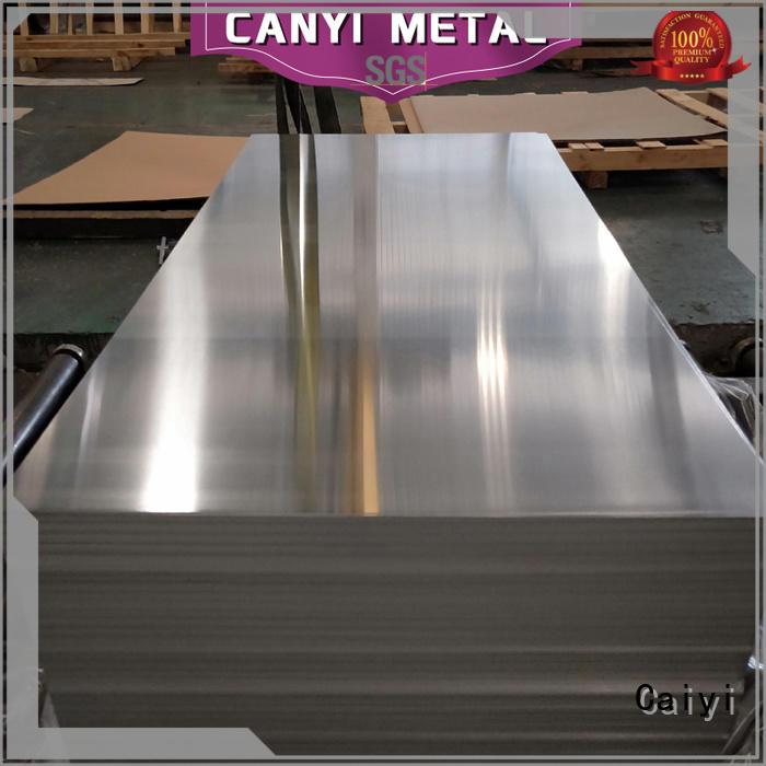 Caiyi various 3003 aluminum sheet customization for factory