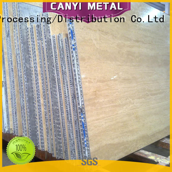 Caiyi 100% quality aluminum honeycomb wholesale for building