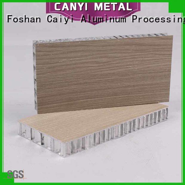 Caiyi cheap honeycomb sheet fast shipping for curtain wall