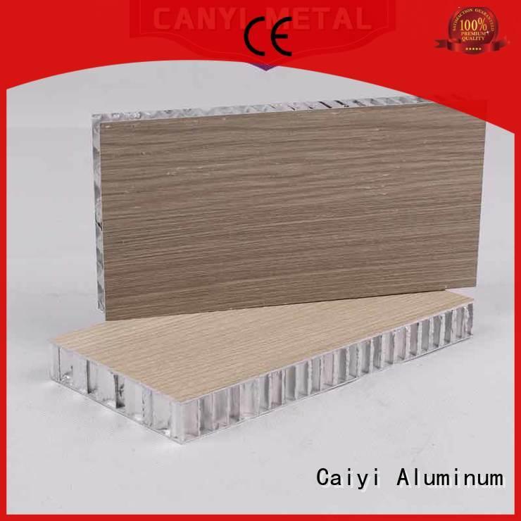 Caiyi best aluminum honeycomb panels supplier for building
