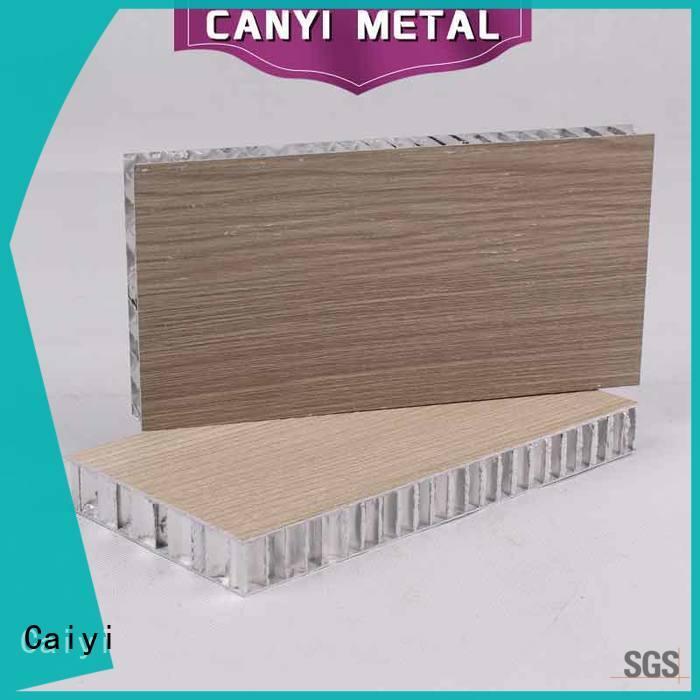 Caiyi cheap aluminum honeycomb panels manufacturer for curtain wall