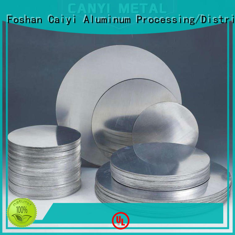 Caiyi decorated aluminum plate for sale wholesale for hardware