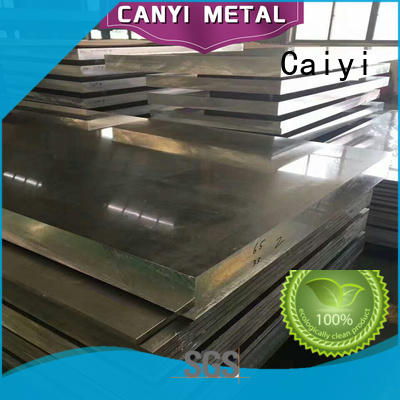 Caiyi quality 6061 aluminum plate sheet for factory