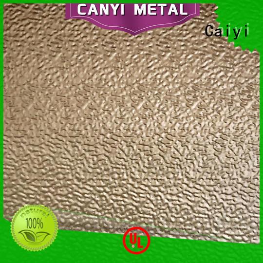 Caiyi famous thin aluminium sheet wholesale for hardware